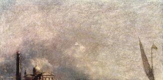 Francesco Guardi, Il bacino di San Marco verso l'isola di San Giorgio, 1785 ca. Galleria Estense, Modena