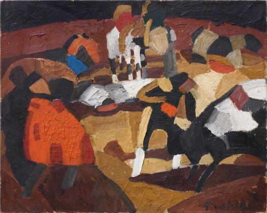 Francis Picabia, Tauromachie, 1912, Collection Valérie Roncari, Courtesy Galerie 1900 2000, Paris © ADAGP, Paris 2018