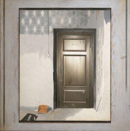Gianfranco Ferroni, Porta chiusa, 1974, collezione privata