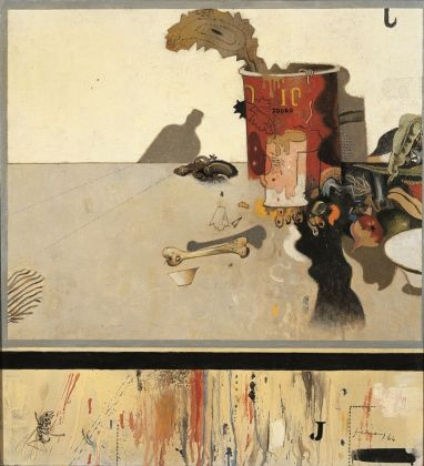 Gianfranco Ferroni, Rifiuti, 1964, collezione privata