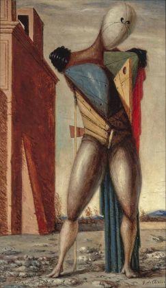 Giorgio de Chirico_ Il trovatore, c. 1924. Museum Boijmans Van Beuningen, Rotterdam, photo Studio Tromp ©Giorgio de Chirico by SIAE 2018