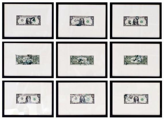 Giulio Cassanelli, 11 Banknotes #23-31, 2017