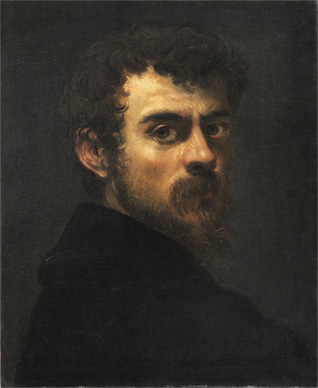 Jacopo Tintoretto, Autoritratto, 1588 ca. Musée du Louvre, Département des Peintures, Parigi