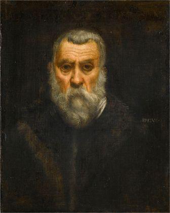 Jacopo Tintoretto, Autoritratto, 1588 ca. Parigi, Musée du Louvre ‒ Départment des Peintures