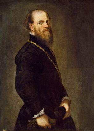 Jacopo Tintoretto, Gentiluomo con la catena d'oro, 1555 ca. Madrid, Museo Nacional del Prado © Photographic Archive Museo Nacional del Prado