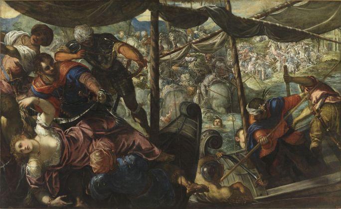 Jacopo Tintoretto, Ratto di Elena, 1576 77 ca. Madrid, Museo Nacional del Prado