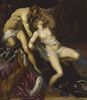 Jacopo Tintoretto, Tarquinio e Lucrezia, 1578-1580 ca. The Art Institute of Chicago