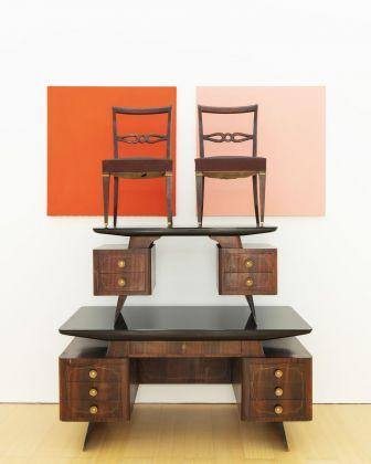 John Armleder, Furniture Sculpture 254, 1991