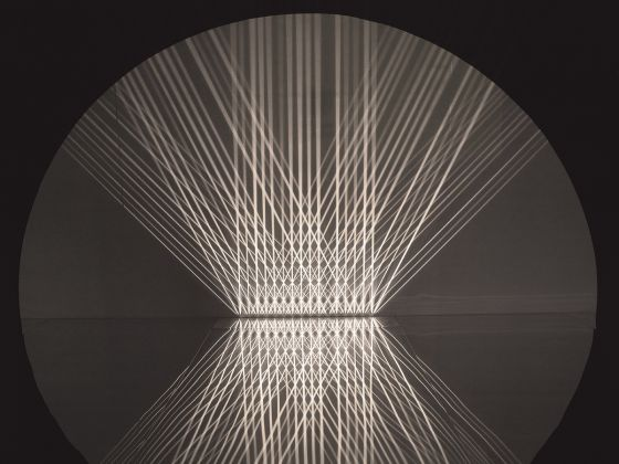 Julio Le Parc, Lumière alternée, 1966-1993 Light installation Variable dimensions Private collection