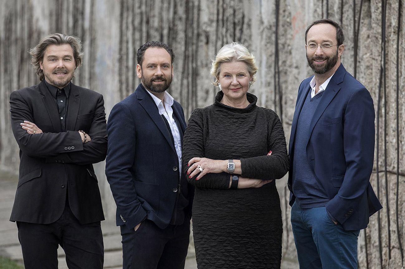 Lars Krückeberg, Thomas Willemeit, Marianne Birthler e Wolfram Putz. Photo Pablo Castagnola