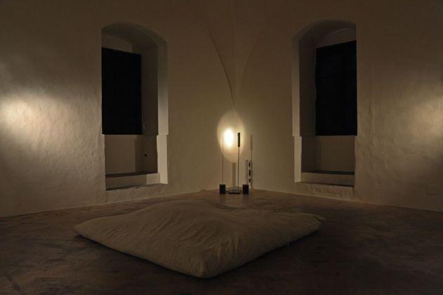 Laura Cionci. Il Giardino segreto. Exhibition view at Palazzo dei Priori, Volterra 2018. Photo Stefano Cari