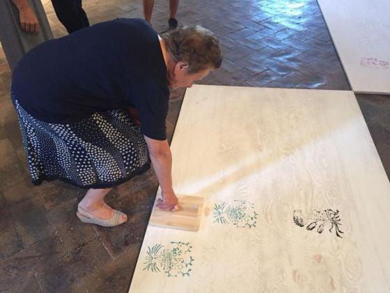Laura Cionci. Il Giardino segreto. Palazzo dei Priori, Volterra 2018. Inaugurazione