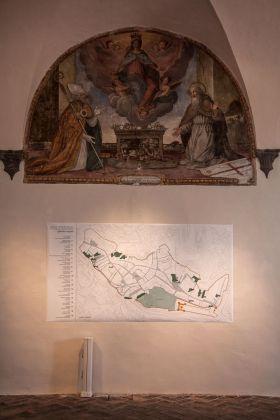Laura Cionci. Il Giardino segreto. Palazzo dei Priori, Volterra 2018. Mappa dei giardini segreti