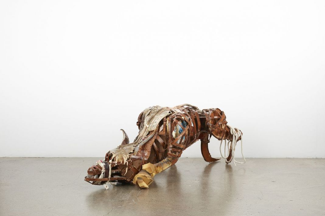 Lavar Munroe, Midnight Predator, 2017. Courtesy Jack Bell Gallery