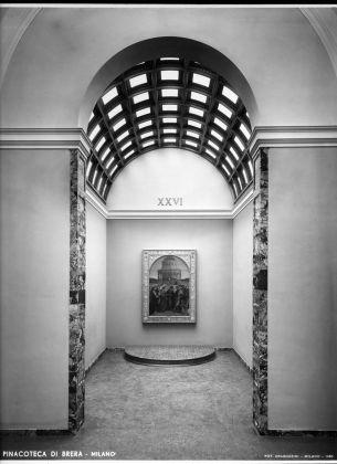 Le nuove sale della Pinacoteca di Brera, 1950. Milano, Laboratorio fotoradiografico della Pinacoteca di Brera