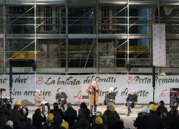 Cantiere Evento al Teatro Lirico, ph. Lorenzo Bacci