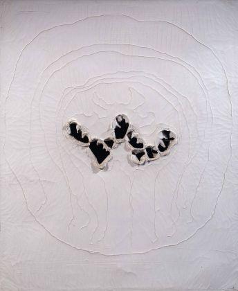Lucio Fontana, Concetto spaziale, 1963. Collezione Merlini