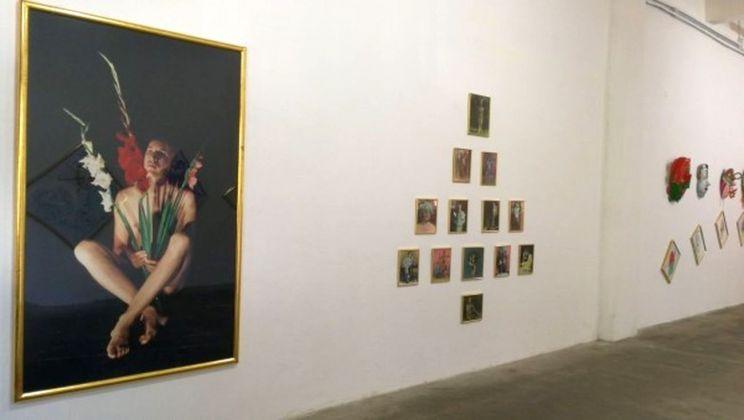 Luigi Ontani. Opere scelte da una collezione. Installation view at Galleria Giovanni Bonelli, Pietrasanta 2018