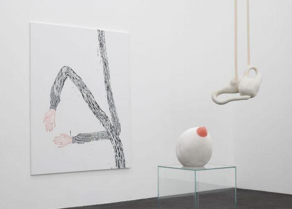 Mademoiselle. Exhibition view at CRAC Occitanie, Sète 2018. Photo © Marc Domage