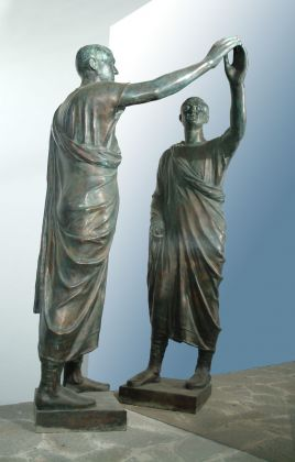 Michelangelo Pistoletto, Etrusco, 1976