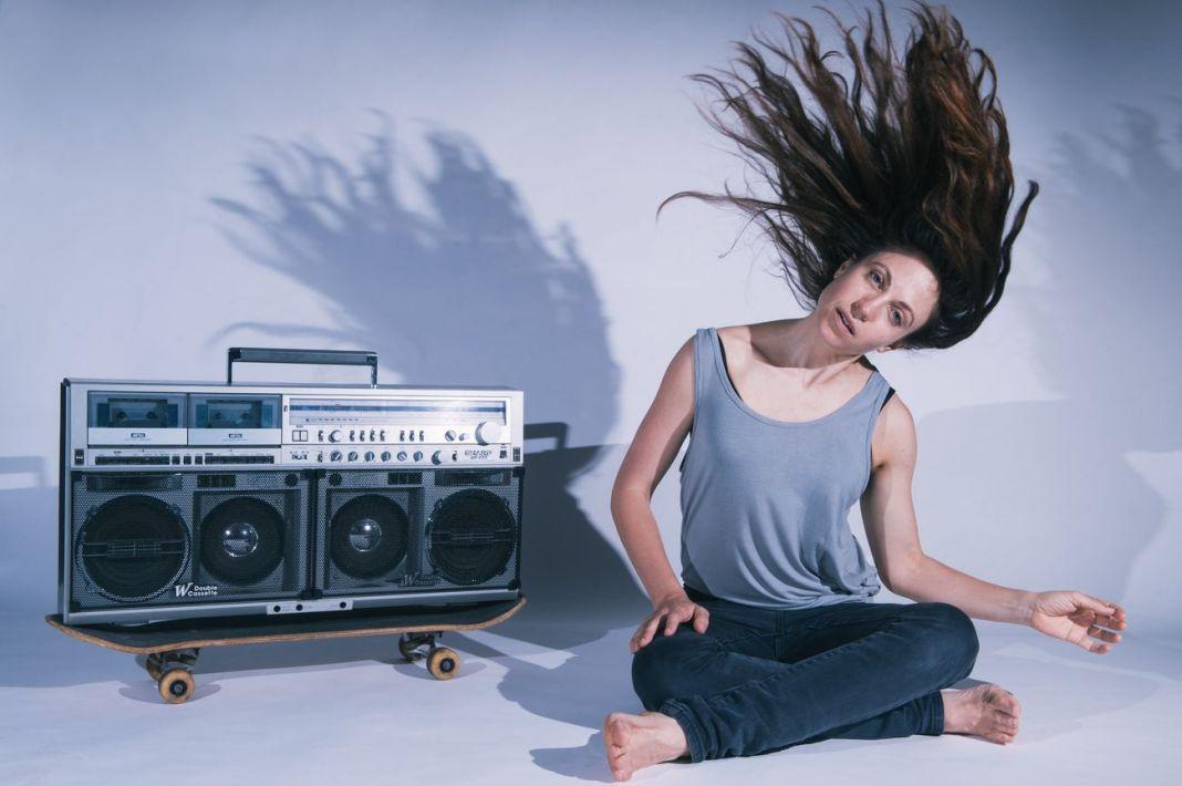 Nicola Gunn, Piece for Person and Ghetto Blaster ® Sarah Walker