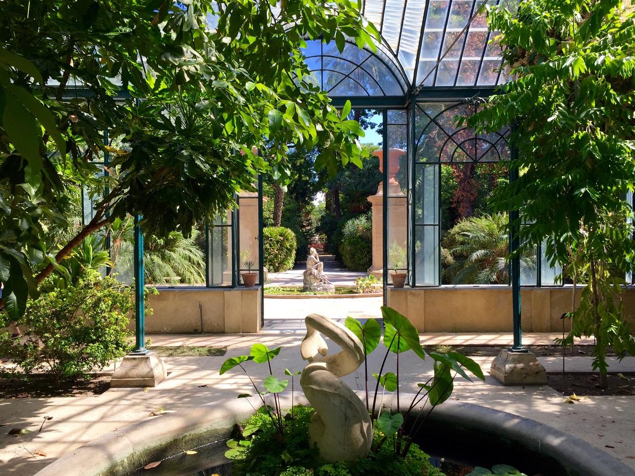 Orto Botanico di Palermo, Serra Carolina, una delle sedi di Manifesta