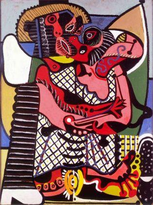 Pablo Picasso, Le Baiser, été 1925, Musée national Picasso Paris © Succession Picasso, 2018