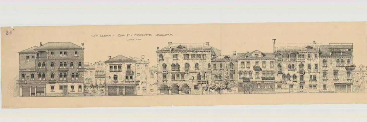 Paolo Bertanza, Sant'Elena – zona P – Fronte Laguna, archivio Ater, Venezia