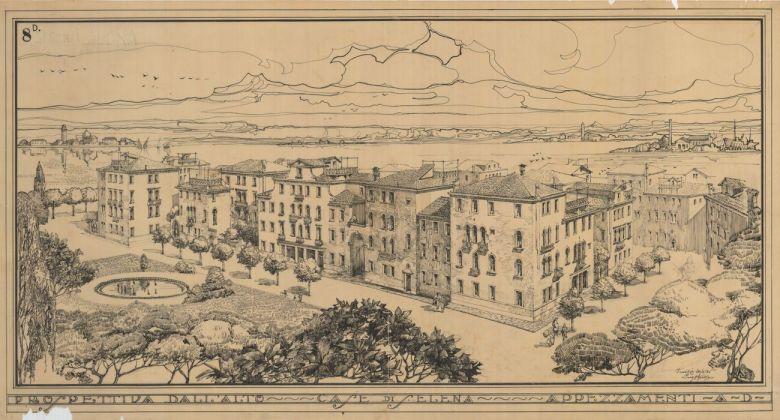 Paolo Bertanza, Vista del progetto di Sant'Elena, archivio Ater, Venezia