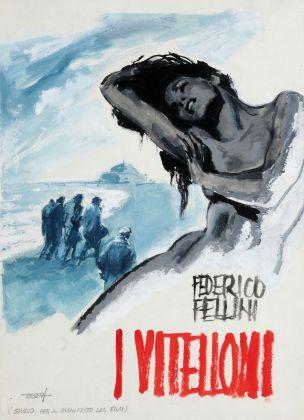 Pittori di Cinema - Enrico De Seta - I Vitelloni - Bozzetto