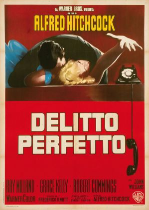 Pittori di Cinema - Giuliano Nistri - Delitto perfetto - Affisso