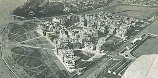 Plinio Donatelli, Sant'Elena, veduta d'insieme con panorama del Parco delle Rimembranze, pubblicata dall'autore nel 1928