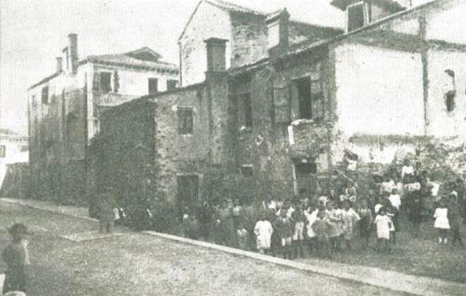 Plinio Donatelli, Vecchia Venezia di fine Ottocento, pubblicata dall'autore nel 1928