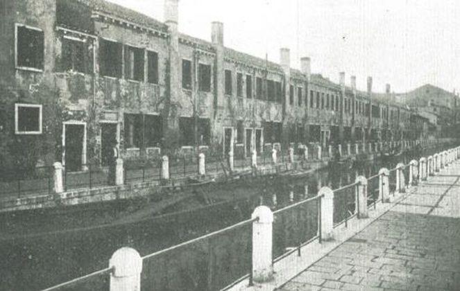 Plinio Donatelli, Vecchia Venezia, fondamenta di fine Ottocento, pubblicata dall'autore nel 1928