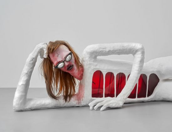 Rebecca Ackroyd, NAVE!, 2018. Courtesy the artist & Peres Projects, Berlin. Photo © Matthias Kolb