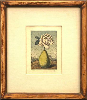 René Magritte, Poire et Rose, Le Lien de Paille, 1969