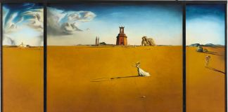 Salvador Dalí_ Landscape with a Girl Skipping Rope, 1936 Museum Boijmans Van Beuningen, Rotterdam, photo Studio Tromp © Salvador Dalí, Fundacio Gala Salvador Dalí, by SIAE 2018