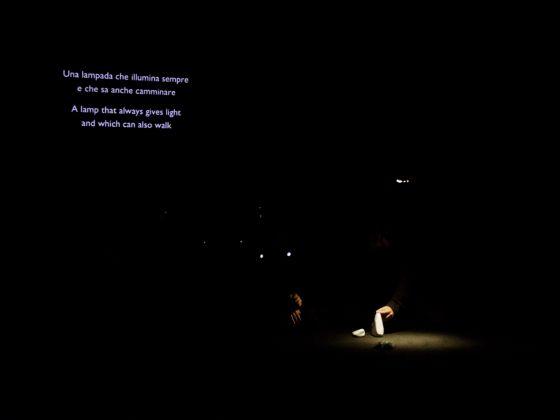 Sarah Vanhee/CAMPO, Unforetold. Photo credits Alessandro Sala per Centrale Fies, 2018