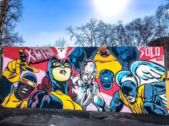 Solo, Muri sicuri, Roma 2018. Photo Silvia Tarchini