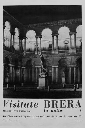 Visitate Brera la notte, 1955. Milano, Pinacoteca di Brera