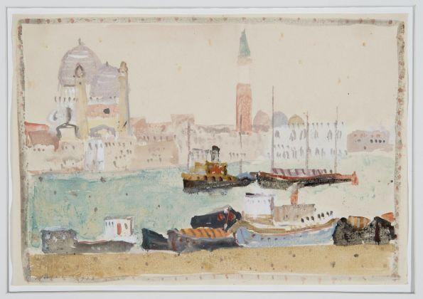 Zoran Music, Bacino di San Marco, 1948. Collezione privata