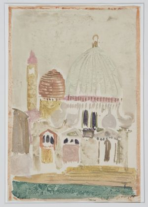 Zoran Music, La chiesa della Salute, 1948. Collezione privata