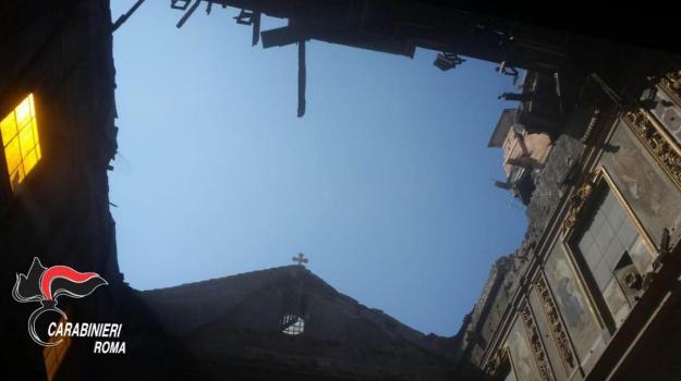La chiesa di San Giuseppe dei Falegnami a Roma