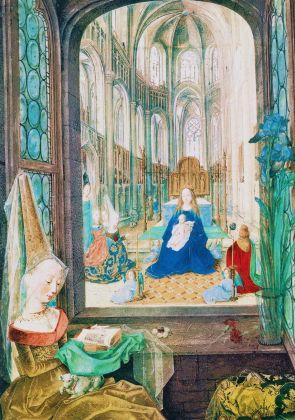 dal Libro d'Ore di Maria di Borgogna, 1467-77