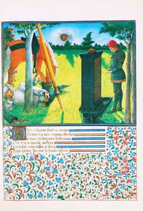 dal Libro del cuore che arse per amore, di Renato d'Angiò, 1460-67