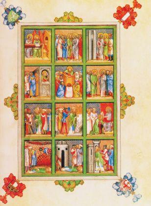 dall'Evangeliario di Giovanni di Troppau, 1368