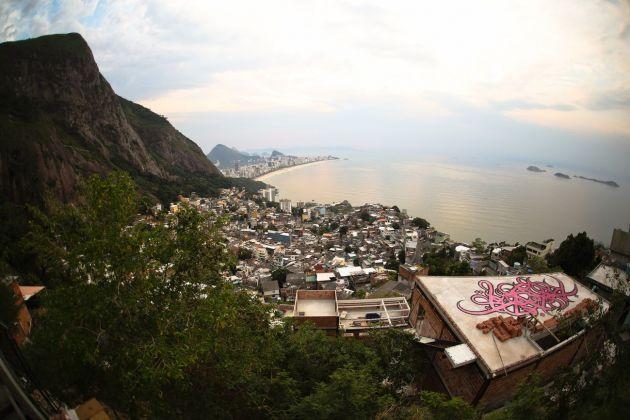 el Seed, The country of the Black, Vidigal Favela, Rio de Janeiro. Photo credit Henrique Madeira
