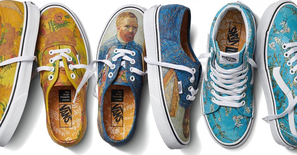 vans van gogh scarpe
