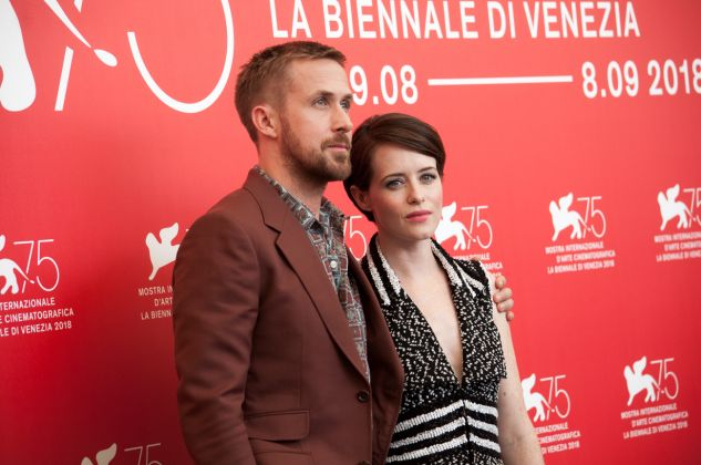 Venezia 75, Firstman, Ryan Gosling e Claire Foy, ph. Irene Fanizza