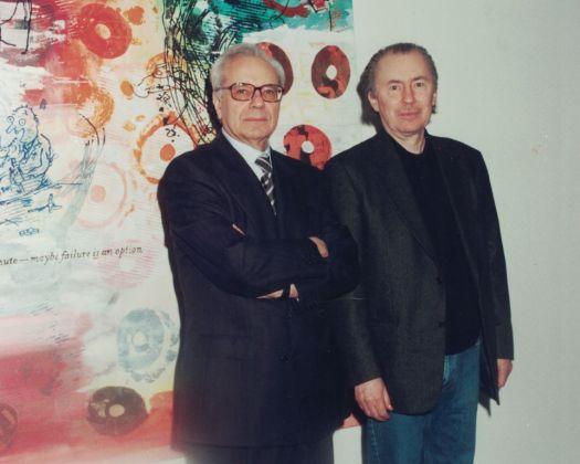 2008 Enzo Cannaviello e Helmut Middendorf alla sua inaugurazione